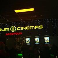 Photo taken at Forum Cinemas Akropolis by Rimas B. on 1/4/2013