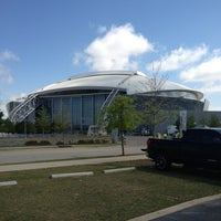 Photo taken at AT&T Stadium by Lloyd W. on 3/31/2013