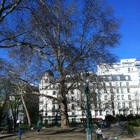 Photo taken at Square Montholon by Thomas R. on 4/14/2013