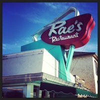 Photo taken at Rae's Diner by Thomas R. on 2/16/2013