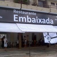 Photo taken at Embaixada Restaurante by Divino G. on 1/21/2014