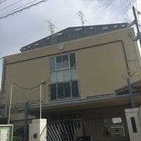Photo taken at 住吉中学校 by Hitoshi K. on 10/12/2016