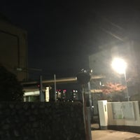 Photo taken at 住吉中学校 by Hitoshi K. on 12/3/2016