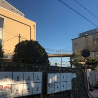 Photo taken at 住吉中学校 by Hitoshi K. on 10/9/2017
