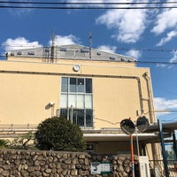 Photo taken at 住吉中学校 by Hitoshi K. on 10/31/2017