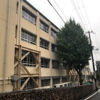 Photo taken at 住吉中学校 by Hitoshi K. on 10/15/2017