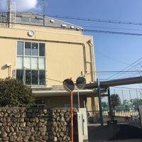 Photo taken at 住吉中学校 by Hitoshi K. on 1/10/2017