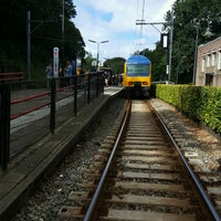 Photo taken at Station Overveen by Thomas K. on 9/5/2016