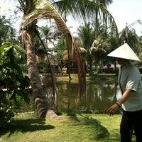 Photo taken at Binh quoi tourist village by sok on 3/22/2014