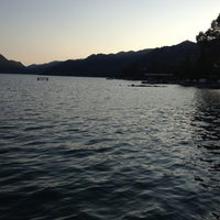 Photo taken at Fish House by burcu l. on 8/10/2013