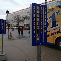 Photo taken at Megabus Terminal - W 34th St & 11 Av by Laurie C. on 2/16/2013
