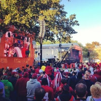 Photo taken at ESPN College GameDay by Justin P. on 10/27/2012