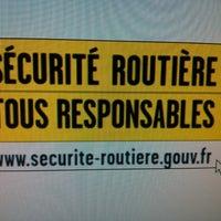 Photo taken at Sécurité Routière by Arthur M. on 4/3/2013