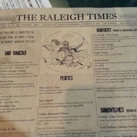 Photo taken at The Raleigh Times Bar by Tom K. on 11/5/2012