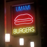 Photo taken at Umami Burger by Tom K. on 9/16/2012