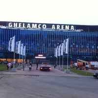 Photo taken at Ghelamco Arena by Kim D. on 7/16/2013
