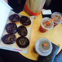 Photo taken at Dunkin' Donuts by Nastya S. on 7/23/2014
