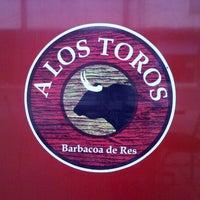 Photo taken at A Los Toros (Barbacoa De Res) by Eduardo V. on 9/29/2012