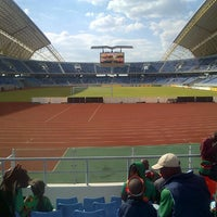 Photo taken at Levy Patrick Mwanawasa Sports Stadium by Chishimba K. on 8/3/2013