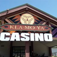 Photo taken at Kla-Mo-Ya Casino by Candy N. on 5/30/2014