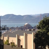 Photo taken at Fillmore Stairs by Jen T. on 9/30/2012