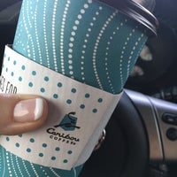 Photo taken at Caribou Coffee by Leah H. on 8/24/2016