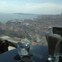 Photo taken at Conrad Roof Bar by Şeyma G. on 4/4/2013