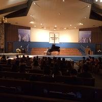 Photo taken at Lincoln Glen Church by Yuki on 11/10/2013