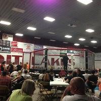 Photo taken at Kent Freeman Arena by meg m. on 9/8/2013