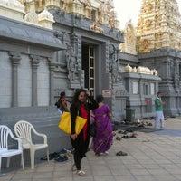 Photo taken at Shri Shiva Vishnu Temple by Karan B. on 10/23/2014