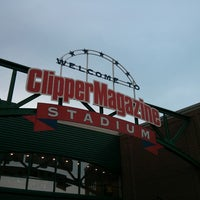 Photo taken at Clipper Magazine Stadium by Andy M. on 5/23/2013