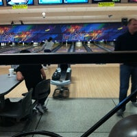 Photo taken at Brunswick Zone Lowell Lanes by Timothy D. on 1/12/2013