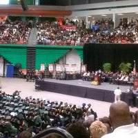 Photo taken at FAMU Al Lawson Jr Multipurpose Center by Calvina P. on 5/4/2013