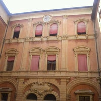Photo taken at Palazzo d'Accursio - Palazzo Comunale by Kuray D. on 8/7/2013
