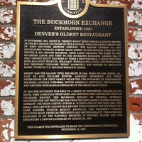 Photo taken at The Buckhorn Exchange by Ted A. on 6/28/2014