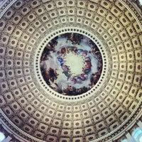 Photo taken at Rotunda of the U.S. Capitol by Felipe B. on 3/12/2013