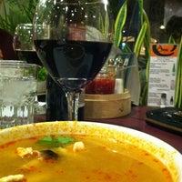 Photo taken at Amarit Thai Restaurant by Marcy M. on 10/7/2012