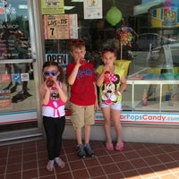 Photo taken at SugarPop's Candy and Soda Shop by Danika W. on 4/13/2013