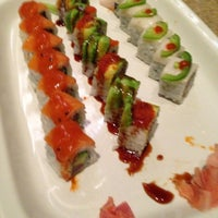 Photo taken at Sushi Zushi by Debra W. on 2/17/2013