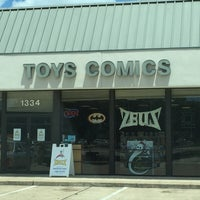 Photo taken at Zeus Comics and Collectibles by Debra W. on 7/20/2016