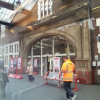 Photo taken at Stoke-on-Trent Railway Station (SOT) by Shamoon Y. on 9/16/2013