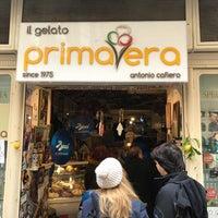 Photo taken at Gelateria Primavera by Hkn G. on 2/4/2018