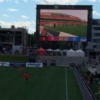 Photo taken at TD Place Stadium by Ktek on 9/7/2014