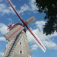 Photo taken at Danish Windmill by Angela S. on 9/4/2014