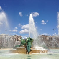 Photo taken at Swann Memorial Fountain by Angela S. on 3/30/2013