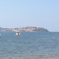 Photo taken at Spiaggia Bagnaia by Giacomo G. on 7/25/2013
