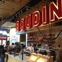 Photo taken at Boudin Bakery Café Baker's Hall by Abdul S. on 10/24/2012