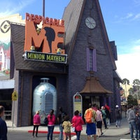 Photo taken at Despicable Me: Minion Mayhem by Abdul S. on 2/4/2013