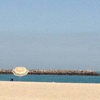Photo taken at Marina Beach by Deo P. on 4/26/2013