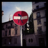 Photo taken at Corso Sempione by Marta T. on 5/9/2013